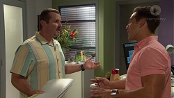 Toadie Rebecchi, Aaron Brennan in Neighbours Episode 7590