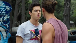 T-Bone, Tyler Brennan in Neighbours Episode 7590
