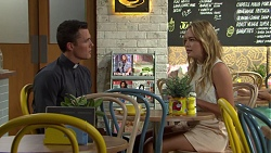 Jack Callaghan, Xanthe Canning in Neighbours Episode 7590