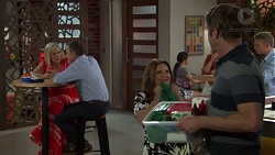 Brooke Butler, Paul Robinson, Terese Willis, Gary Canning in Neighbours Episode 7591