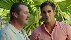 Toadie Rebecchi, Aaron Brennan in Neighbours Episode 7591