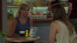 Steph Scully, Sonya Mitchell in Neighbours Episode 7591