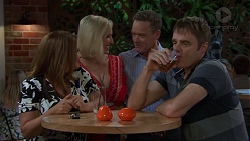 Terese Willis, Brooke Butler, Paul Robinson, Gary Canning in Neighbours Episode 7591