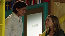 Leo Tanaka, Piper Willis in Neighbours Episode 7591