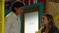 Leo Tanaka, Piper Willis in Neighbours Episode 7591