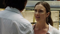 Leo Tanaka, Amy Williams in Neighbours Episode 7591