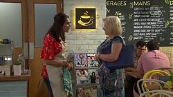 Dipi Rebecchi, Sheila Canning in Neighbours Episode 7592