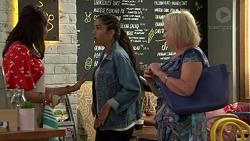 Dipi Rebecchi, Yashvi Rebecchi, Sheila Canning in Neighbours Episode 7592