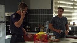 Mark Brennan, Aaron Brennan in Neighbours Episode 7592