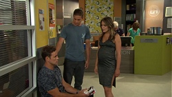 Aaron Brennan, Tyler Brennan, Paige Novak in Neighbours Episode 7592