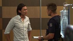 Leo Tanaka, Mark Brennan in Neighbours Episode 7592