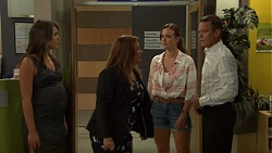 Paige Novak, Terese Willis, Amy Williams, Paul Robinson in Neighbours Episode 7592
