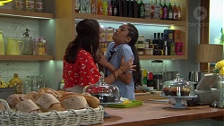 Dipi Rebecchi, Yashvi Rebecchi in Neighbours Episode 7592