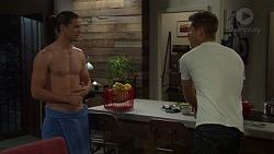 Tyler Brennan, Mark Brennan in Neighbours Episode 7592