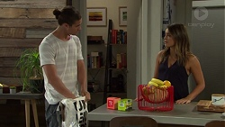 Tyler Brennan, Paige Novak in Neighbours Episode 7593