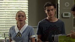 Xanthe Canning, Ben Kirk in Neighbours Episode 7593