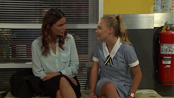 Elly Conway, Xanthe Canning in Neighbours Episode 7593