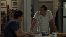 Ben Kirk, Tyler Brennan in Neighbours Episode 7593