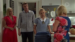 Brooke Butler, Gary Canning, Xanthe Canning, Sheila Canning in Neighbours Episode 7594