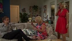 Gary Canning, Sheila Canning, Brooke Butler in Neighbours Episode 7594