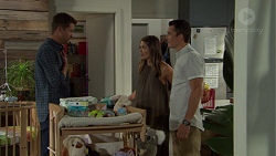 Mark Brennan, Paige Novak, Jack Callaghan in Neighbours Episode 7594