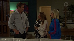 Gary Canning, Terese Willis, Brooke Butler in Neighbours Episode 7595