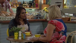 Dipi Rebecchi, Sheila Canning in Neighbours Episode 7595