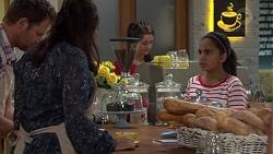 Shane Rebecchi, Dipi Rebecchi, Kirsha Rebecchi in Neighbours Episode 7595