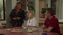 Terese Willis, Brooke Butler, Gary Canning in Neighbours Episode 7595