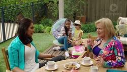 Dipi Rebecchi, Kirsha Rebecchi, Nell Rebecchi, Sheila Canning in Neighbours Episode 7595