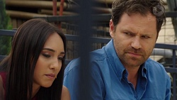 Mishti Sharma, Shane Rebecchi in Neighbours Episode 7595
