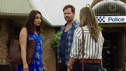 Dipi Rebecchi, Shane Rebecchi, Amy Williams in Neighbours Episode 7597