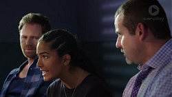 Shane Rebecchi, Yashvi Rebecchi, Toadie Rebecchi in Neighbours Episode 7597