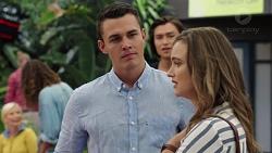 Jack Callahan, Leo Tanaka, Amy Williams in Neighbours Episode 7597