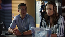 Jack Callaghan, Amy Williams in Neighbours Episode 7597