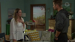 Sonya Mitchell, Mark Brennan in Neighbours Episode 7597