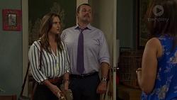 Amy Williams, Toadie Rebecchi, Dipi Rebecchi in Neighbours Episode 7597