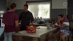 Tyler Brennan, Mark Brennan, Aaron Brennan in Neighbours Episode 7597
