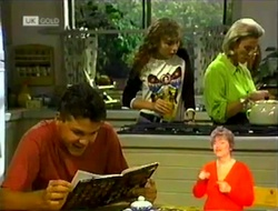 Michael Martin, Debbie Martin, Helen Daniels in Neighbours Episode 2108