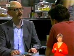 Ron Barrett, Michael Martin in Neighbours Episode 2108