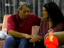 Doug Willis, Gaby Willis in Neighbours Episode 2108