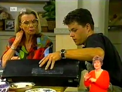 Helen Daniels, Michael Martin in Neighbours Episode 2108