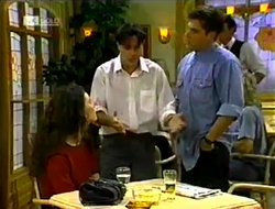 Gaby Willis, Rick Alessi, Mark Gottlieb in Neighbours Episode 2113