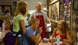 Janae Timmins, Harold Bishop, Boyd Hoyland, Serena Bishop in Neighbours Episode 4759