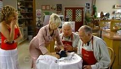 Serena Bishop, Sindi Watts, Lou Carpenter, Harold Bishop in Neighbours Episode 4759