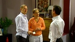 Max Hoyland, Steph Scully, Paul Robinson in Neighbours Episode 4805
