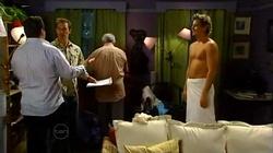 Toadie Rebecchi, Stuart Parker, Lou Carpenter, Ned Parker in Neighbours Episode 4818