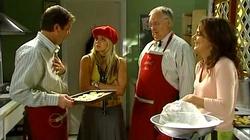 David Bishop, Sky Mangel, Harold Bishop, Liljana Bishop in Neighbours Episode 4818