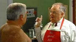 Lou Carpenter, Harold Bishop in Neighbours Episode 4818