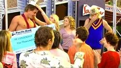 Ned Parker, Sky Mangel, Serena Bishop, Joe Mangel in Neighbours Episode 4818